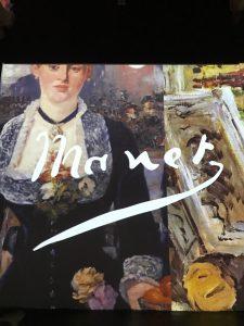 d di donna alla mostra impressionisti francesi