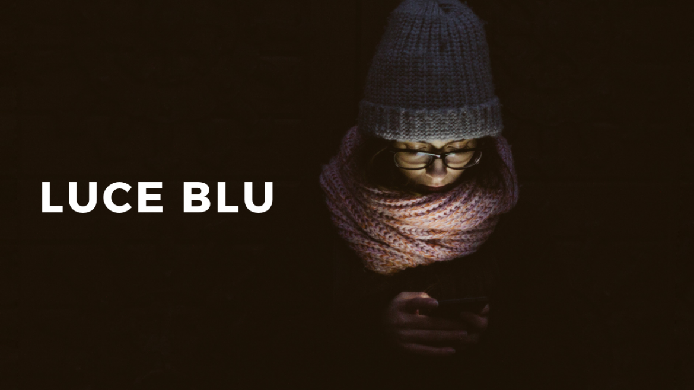 Luce blu: nuovo nemico per la pelle e per gli occhi