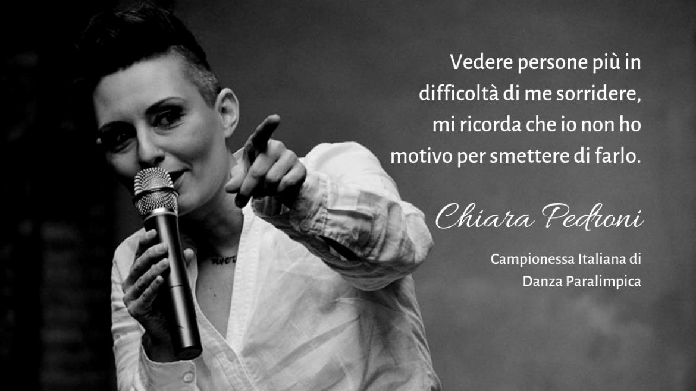 Chiara Pedroni: campionessa italiana di danza… in carrozzina | Intervista a Donne Straordinarie