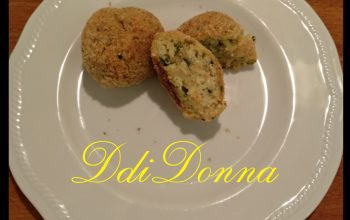 polpette ricotta e zucchine piatto DdiDonna