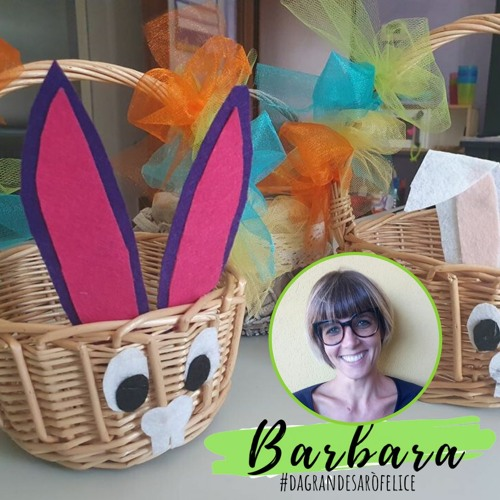 Riflessioni sulla Pasqua e caccia alle uova con Barbara